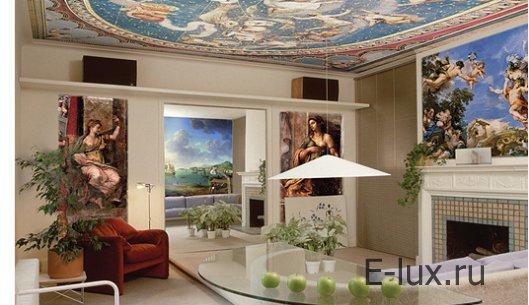 Фрески на стену - виды, выбор, декорирование