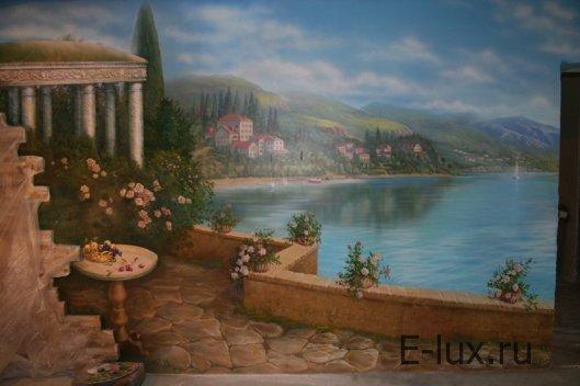 Роспись стен — выбор рисунка, выбор красок