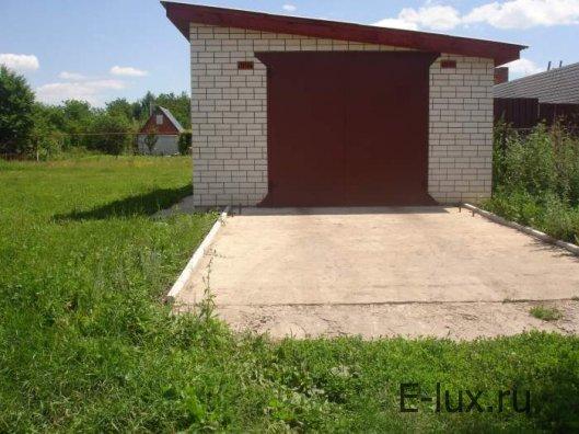 Гараж. Строительство гаража на участке