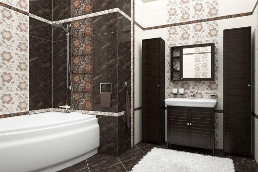 Популярная плитка Chocolate и Black and White от компании Cersanit