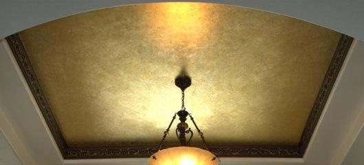Фактурные натяжные потолки и их особенности