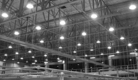 Использование освещения в промышленности