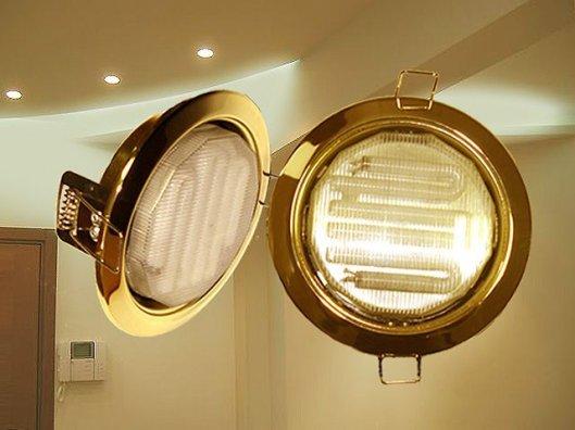 Энергосберегающие точечные светильники