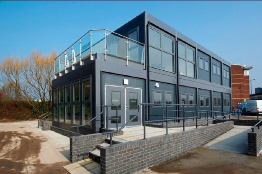 Современные быстровозводимые здания